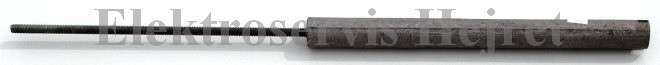 Anodová tyč 20x200 M6x180