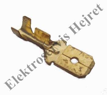Konektor 6,3 mm samec