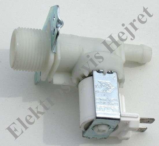 Napouštěcí elektroventil 1cestný rovný vývod 12mm 230V