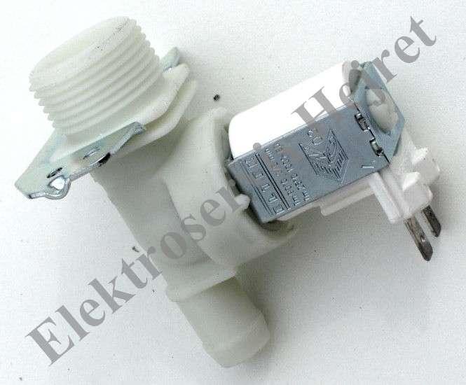 Napouštěcí elektroventil 1cestný rovný vývod 15mm 230V