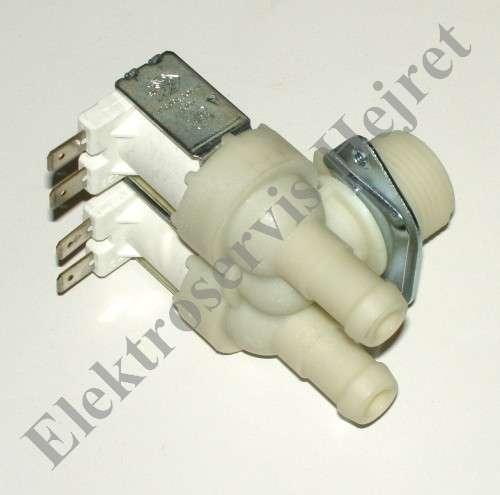 Napouštěcí elektroventil 2cestný rohový vývod 15mm 230V