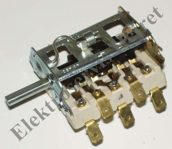 Přepínač trouby 5 poloh 40450 Mora