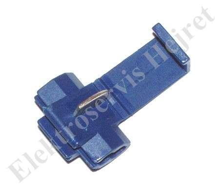 Rychlospojka modrá pro vodiče 1 - 2,6mm2