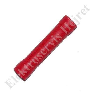 Spojka - dutinka lisovací izolovaná pro průřez 0,5 - 1,5mm