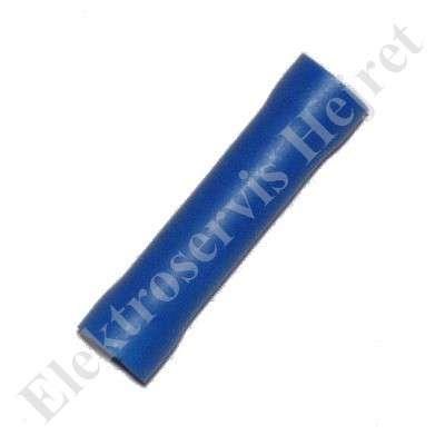 Spojka - dutinka lisovací izolovaná pro průřez 1,5 - 2,5mm