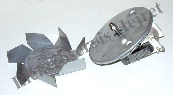 Ventilátor teplovzdušné trouby UNI hřídel - 22mm