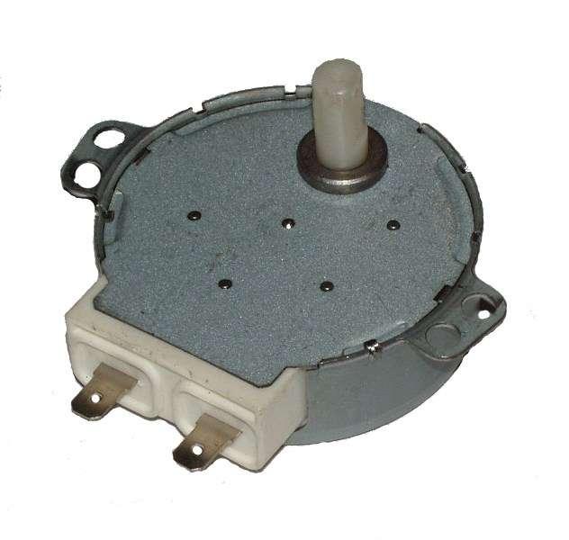 Motorek talíře mikrovlnné trouby 4W 230V hřidelka z plastu