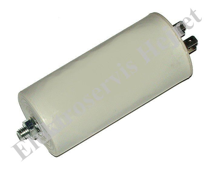 Kondenzátor 40uF, 400 - 500V se šroubem, vývod faston