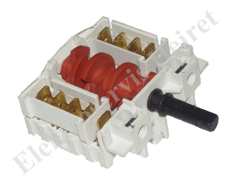 Přepínač plotny 7 poloh 5HE/066 (SR105-007) krátký