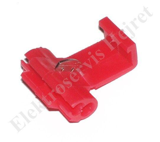 Rychlospojka červená pro vodiče 0,25 - 1,65mm2