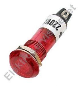 Signálka červená 230V 10mm