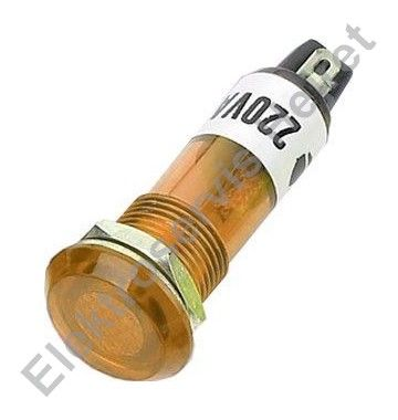 Signálka žlutá 230V 10mm