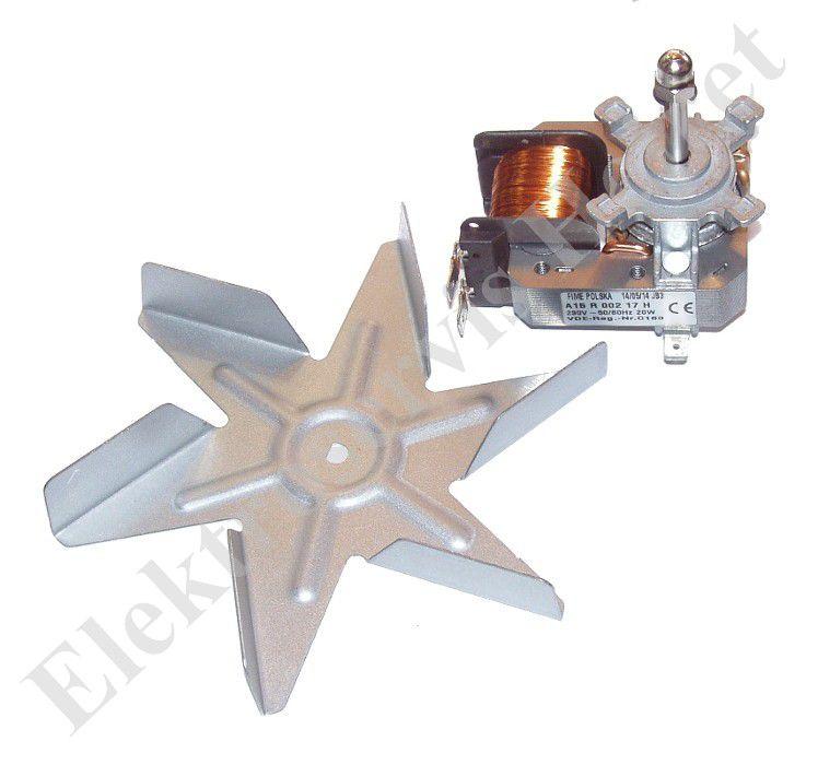 Ventilátor teplovzdušné trouby Amica